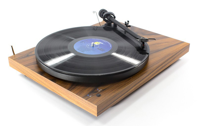 pro ject debut iii record master walnut