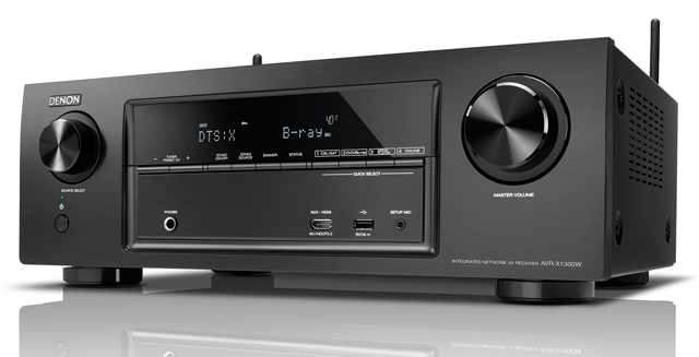 Denon AVR X1300W E2 product left