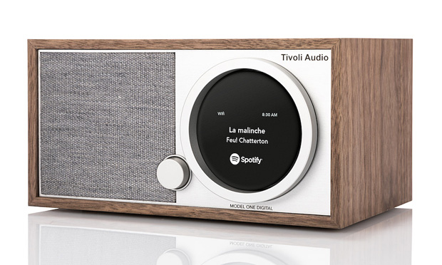 tivoli model one digital walnut