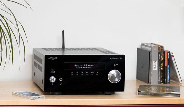 Advance Paris MyConnect 50 kompakt hi-fi rendszer/hálózati lejátszó