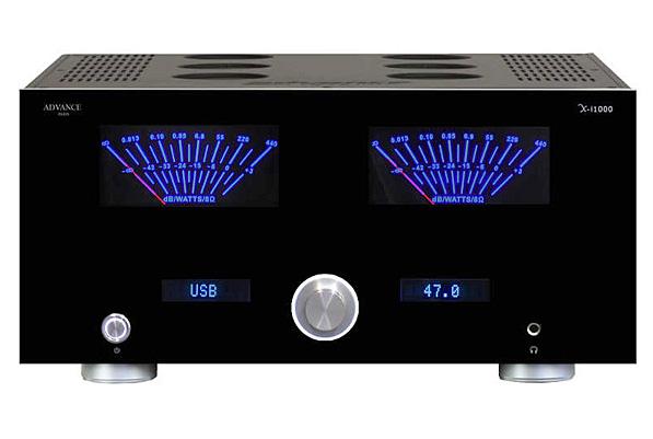 Advance Paris X-i1100 integrált erősítő/DAC teszt